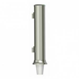 Ø 78 to 85 mm-tumbler dispenser stainless steel (1 pc)