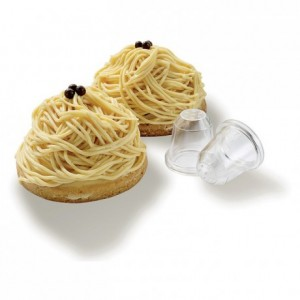 Douille à nid ou à vermicelle en polycarbonate (lot de 2)