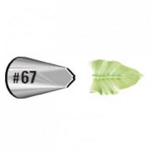 Wilton Decorating Tip 067 Leaf Carded