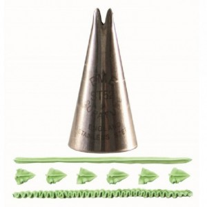 Douille PME Supatube Leaf Large No. 52