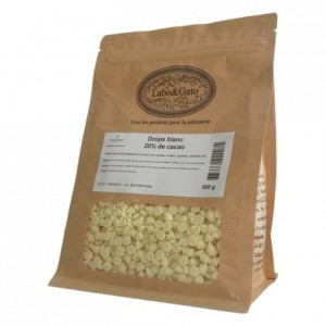 White chocolate drops 500 g