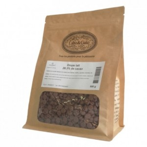Milk chocolate drops 500 g