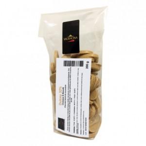 Dulcey 32% chocolat blond de couverture fèves 200 g