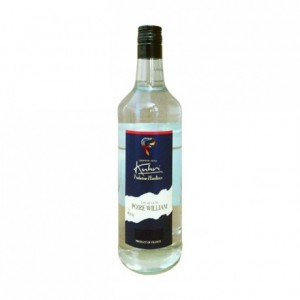 Eau de vie de poire william 45% 1 L