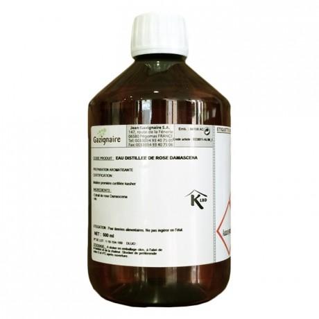 Eau distillée d'arôme naturel rose 500 mL