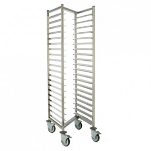 Nestable racking trolley 700 x 530 mm