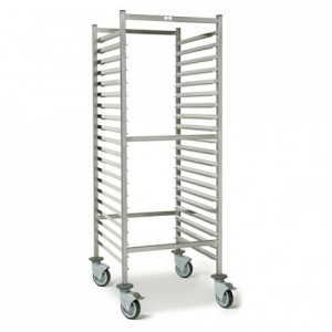 20-shelf pastry trolley Optimo 530 x 660 x 1790 mm
