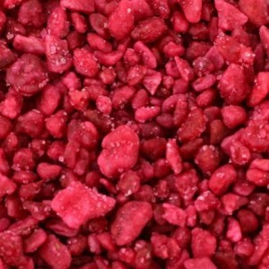 Crystallized rose slivers 1 kg