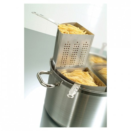 Complete pasta pot set stainless steel