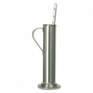 Syrup density meter test tube stainless steel Ø 36 mm