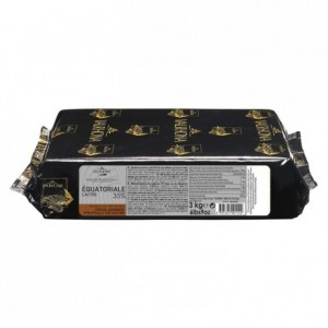 Equatoriale Lactée 35% chocolat au lait de couverture Signature Professionnelle blocs 3 kg