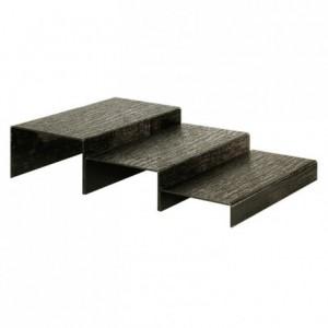 Black step module 400 x 200 x 80 mm