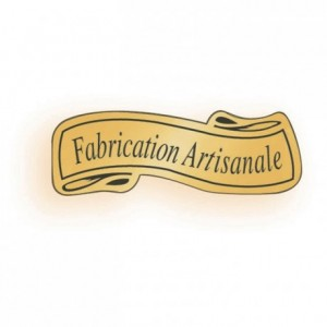 "Adhesive label ""Fabrication artisanale"" (1000 pcs)"