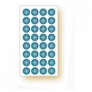 """Frozen product"" adhesive labels Snowflake (120 pcs)"