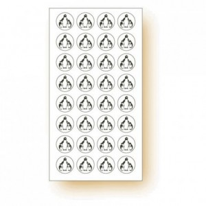"""Frozen products"" adhesive label Penguin (120 pcs)"