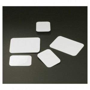 Etiquette rectangulaire 70 x 50 mm (lot de 10)