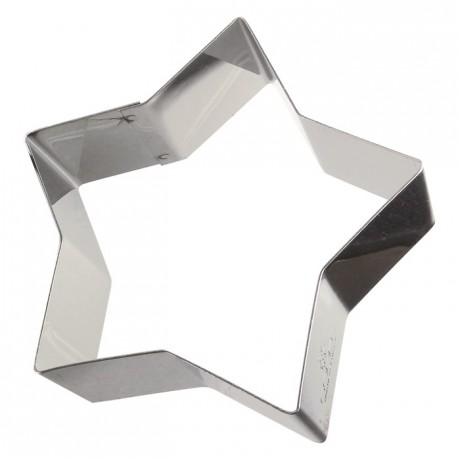Star stainless steel H30 90x85 mm (pack of 6)