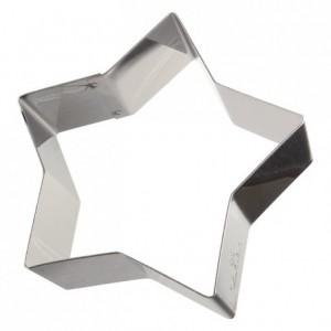 Etoile inox H45 100x90 mm