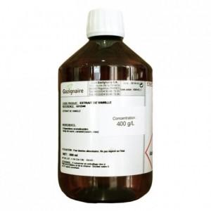 Extrait de vanille Bourbon 400 g/L 500 mL