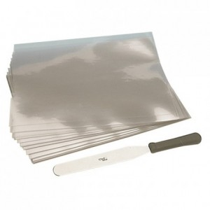 Guitar sheets in polythene 600 x 400 mm (10 pcs)