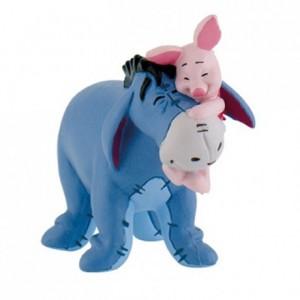 Disney Figuur Winnie de Pooh - Eeyore & Piglet