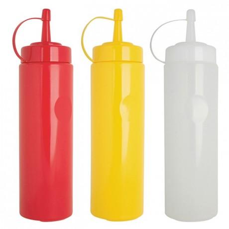 Flexible squeeze bottles yellow 70cl