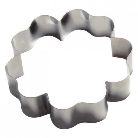 Flower stainless steel H30 Ø115 mm