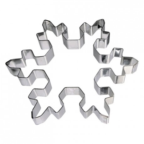 Snowflake stainless steel H15 115x105 mm