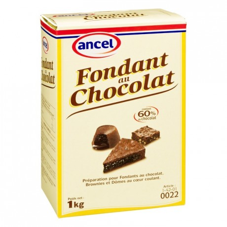 Chocolate fondant mix 1 kg