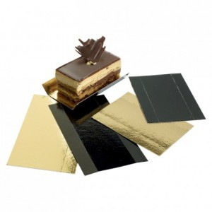 Gold folded cardboard 100 x 45 x 15 mm (200 pcs)