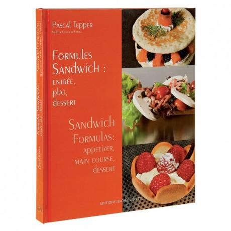 Sandwich formulas, appetizer, main course, dessert