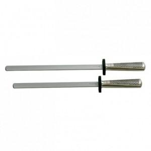 Fusil à aiguiser Global G38 mèche diamant ovale L 260 mm