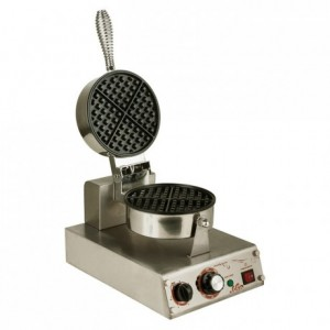 Single round waffle maker Ecoline