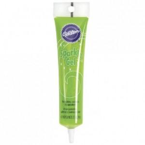 Gel brillant Wilton vert clair 100 g