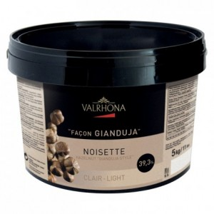 Clear Hazelnut Gianduja 39% 5 kg