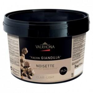 Gianduja noisette clair 39% 5 kg