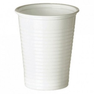 Drinking tumbler white 20 cL (3000 pcs)