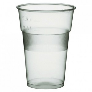 Gobelet boisson 500 DM translucide 60 cL (lot de 700)