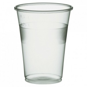 Drinking translucent tumbler 35 cL (1000 pcs)
