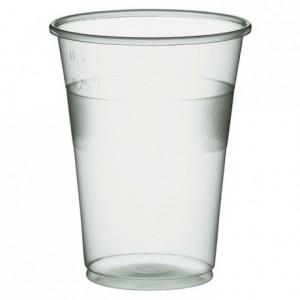 Drinking translucent tumbler 35 cL (1000 pcs)