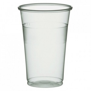 Drinking translucent tumbler 30 cL (1000 pcs)