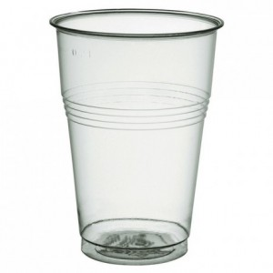 Cristal tumbler individually wrapped 25 cL Ø 72 mm (1000 pcs)