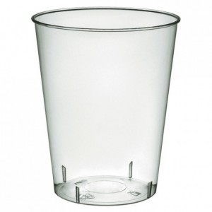 Injected cristal tumbler individually wrapped 22 cL (800 pcs)