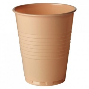 Coffee/tea beige tumbler 18.5 cL (3000 pcs)