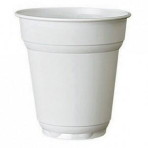 Coffee/tea tumbler white 16 cL (3000 pcs)