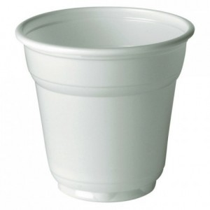 Gobelet café/thé blanc 10 cL (lot de 100)