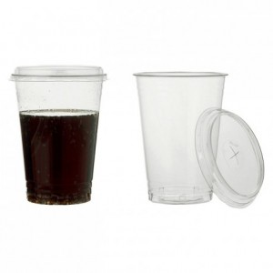 PLA tumbler for cold drink 40 cL (1000 pcs)