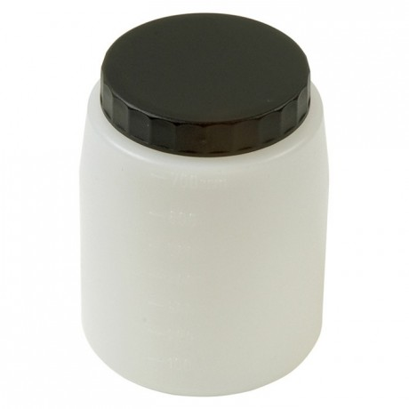 Bowl with lid for electrical spray guns 700mL