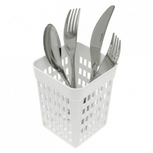 Square cutlery pot 110 x 110 x 140 mm