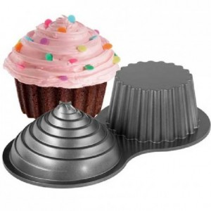Grand moule à cupcake 3D Wilton